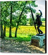 Mississippi Memorial Gettysburg Battleground Canvas Print