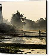 Mist On The Morning Tide Canvas Print by Trevor Wintle