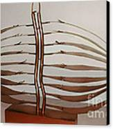 Mitotic Spindle Canvas Print by Franco Divi