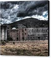Mittagong Malt Factory.  Canvas Print by Ian  Ramsay