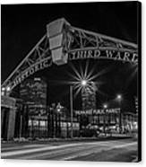 Mke Third Ward Canvas Print