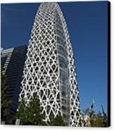 Mode Gakuen Cocoon Tower Canvas Print by David Bearden