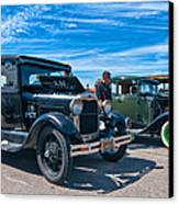 Model T Fords Canvas Print