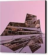 Modern Reflections ... Canvas Print by Juergen Weiss