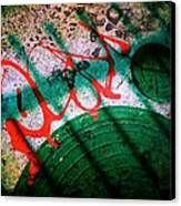 Modern Street Art Canvas Print