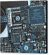 Modern Technology Canvas Print by Jutta Maria Pusl