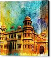 Mohatta Palace Canvas Print by Catf