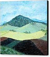 Mole Hill - Sold Canvas Print by Judith Espinoza