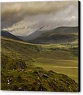 Molly's Gap Co Kerry Ireland Canvas Print by Dick Wood