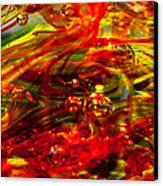 Molten Bubbles Canvas Print by David Patterson