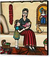 Momma Do You Love Me? Canvas Print by Victoria De Almeida