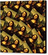Mona Lisa Canvas Print by Moshfegh Rakhsha