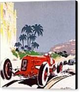 Monaco Grand Prix 1934 Canvas Print