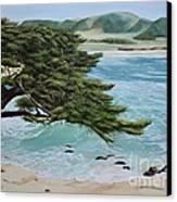 Monastery Beach Canvas Print