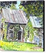 Monday Monday Not Just Any Day Canvas Print by Carol Wisniewski