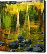 Monet Autumnal 02 Canvas Print by Aimelle