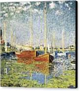 Monet, Claude 1840-1926. Argenteuil Canvas Print
