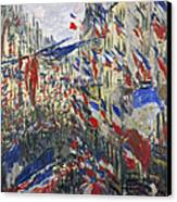Monet: Montorgeuil, 1878 Canvas Print by Granger