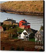 Monhegan Island Maine 142 Canvas Print by Cindy McIntyre