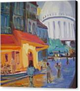 Monmartre Canvas Print by Julie Todd-Cundiff