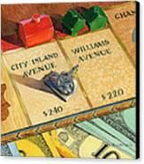 Monopoly On City Island Avenue Canvas Print