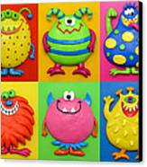 Monsters Canvas Print by Amy Vangsgard