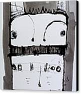 Monstra No. 1 Canvas Print by Mark M  Mellon