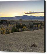 Montana Back Country Canvas Print by Dana Moyer