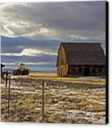 Montana Rural Scenery Canvas Print by Dana Moyer