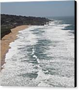 Montara State Beach Pacific Coast Highway California 5d22622 Canvas Print by Wingsdomain Art and Photography