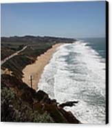 Montara State Beach Pacific Coast Highway California 5d22624 Canvas Print by Wingsdomain Art and Photography
