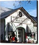 Montgomery County Market Canvas Print