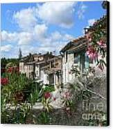 French Hilltop Terraces Canvas Print by France  Art
