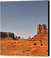 Monument Valley - Beauty Created By Nature Canvas Print by Christine Till
