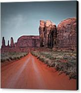 Monument Valley Canvas Print by Cindy Rubin