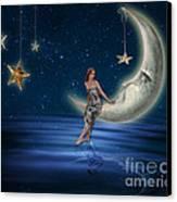 Moon Goddess Canvas Print by Juli Scalzi
