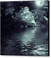 Moon Mysterious Canvas Print