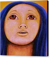 Moonchild Canvas Print by Jacquelyn Roberts