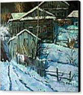 Moonlight A Study Of Kremer Canvas Print by W  Scott Fenton