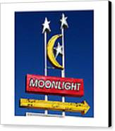 Moonlight Drive In Canvas Print by Gail Lawnicki