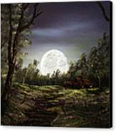 Moonlight  Canvas Print by Jamil Alkhoury