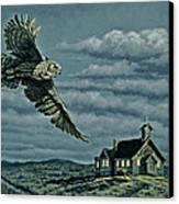 Moonlight Quest   Canvas Print