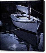 Moonlight Sail Canvas Print by Amy Weiss