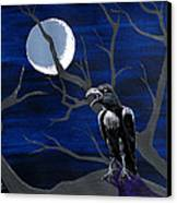 Ravenous Canvas Print by Edward Fuller