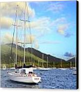 Moored To Relax Canvas Print