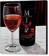 Moose Joose - Blueberry Partridgeberry Wine  Canvas Print