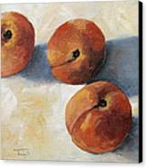 More Georgia Peaches Canvas Print by Torrie Smiley