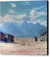 Morman Row Canvas Print by Kathleen Struckle