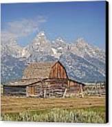 Mormon Barn 2 Canvas Print by Marty Koch
