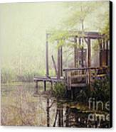 Morning At The Nature Center Canvas Print by Katya Horner